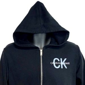Calvin Klein Jeans Shirts & Tops - CK Jeans Vintage Full Zip Hoodie Youth Sz 12/14